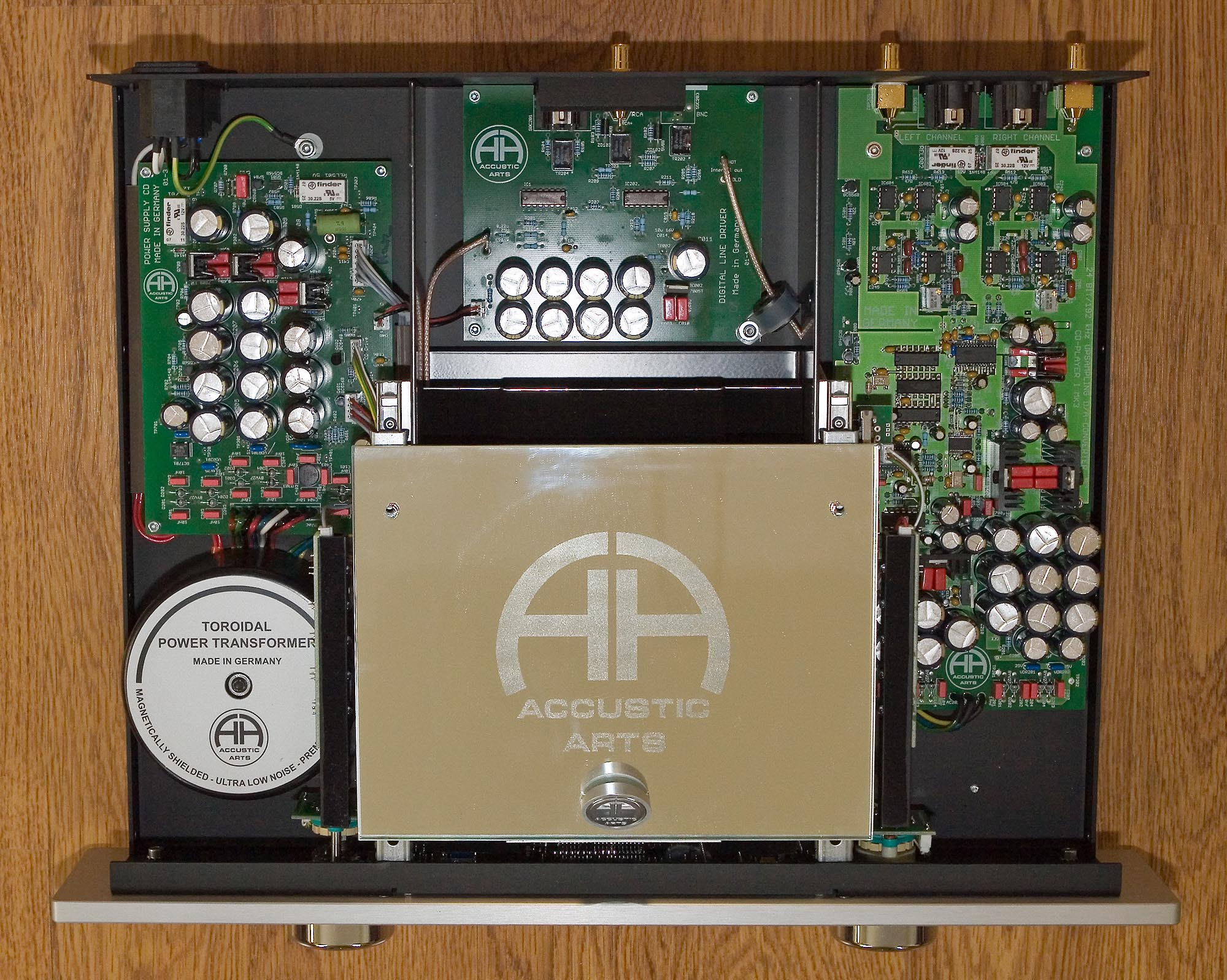 How To Drive Manual >> 6moons audio reviews: Accustic Arts CD Player I MkIII