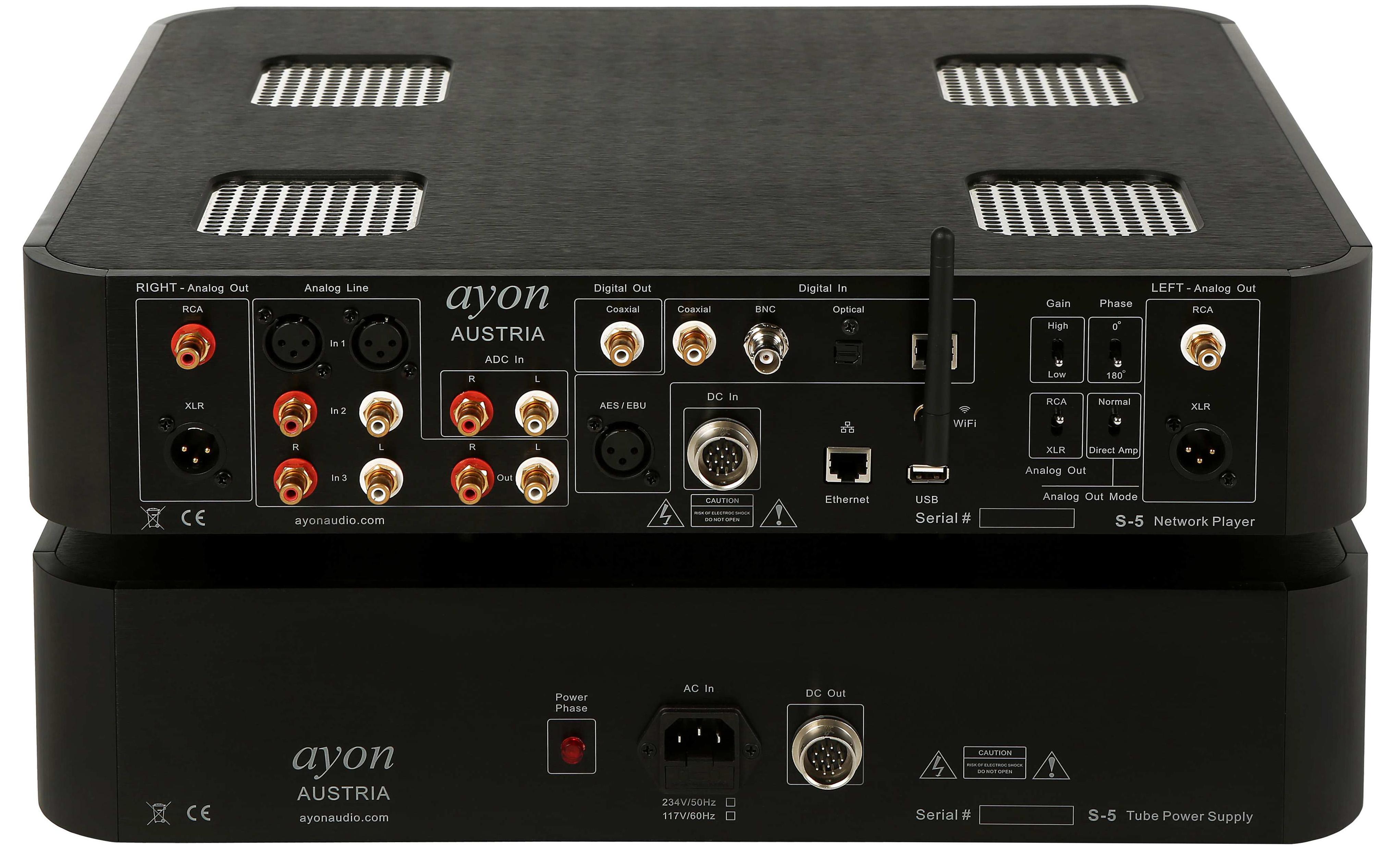 6moons audio reviews: Ayon Audio S-5