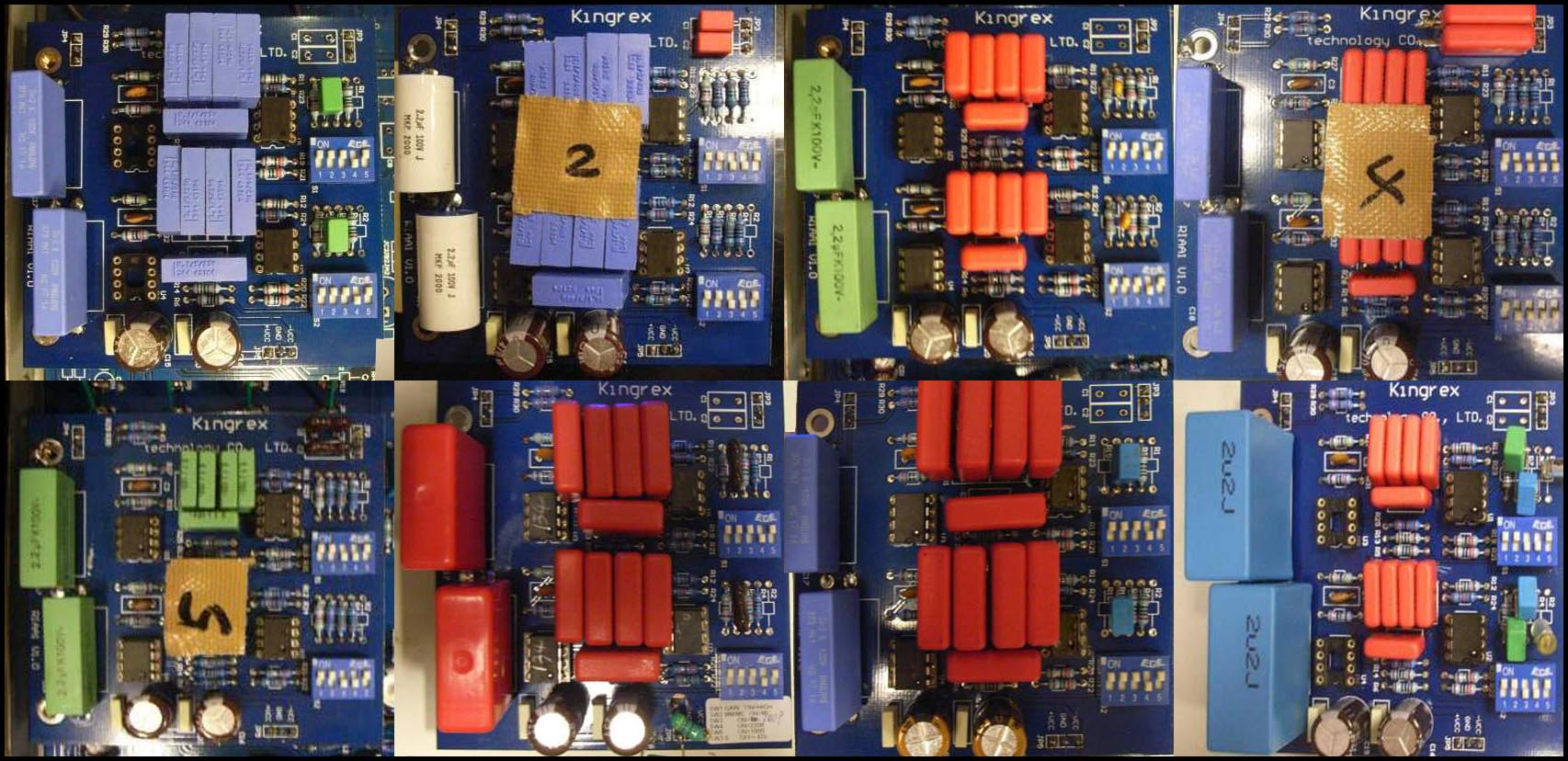 6moons Audio Reviews Kingrex Preference Laminated Electrical Board Usually Fitted With Electronic The Major Difference Are Various Combinations Of Op Amps Preamplifier Ic And Capacitors In Finalized Production Opa134s Factory