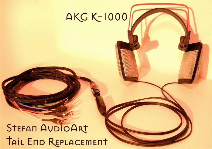 6moons audio reviews: Stefan AudioArt hard-wired AKG K-1000