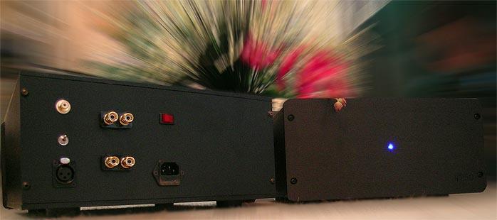 6moons audio reviews: H2O Audio M250 monaural amplifiers