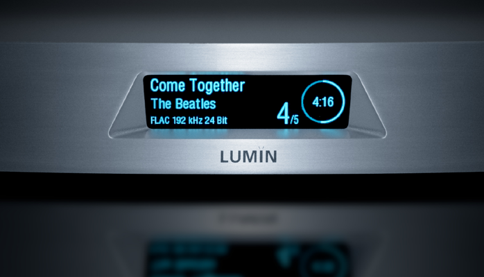 6moons audio reviews: Lumin the Audiophile Network Player