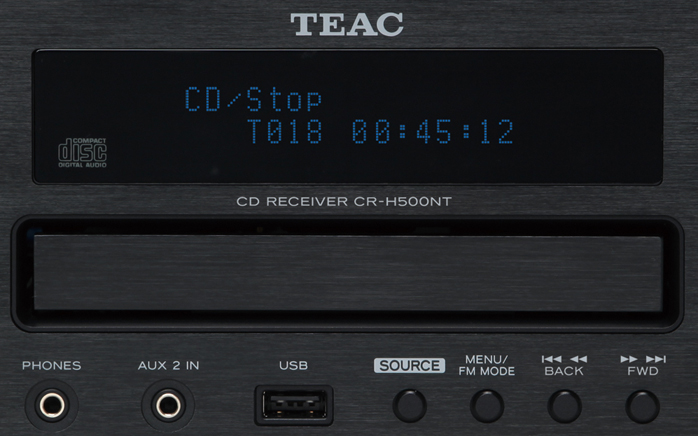 6moons audio reviews:TEAC CR-H500NT