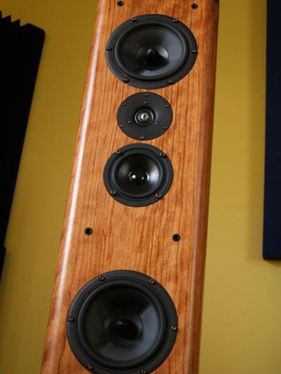6moons audio reviews: Whatmough Monitors P33 Signature