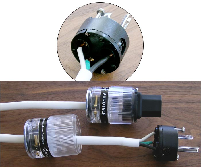6moons audio reviews: DIY vs  Commercial Power Cords - White