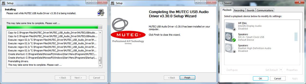MC-3+USB & Ref10